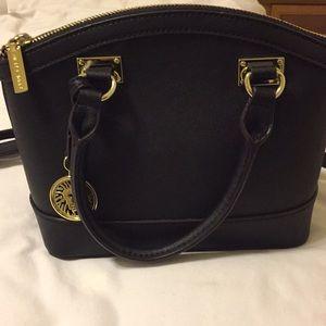 Anne Klein black purse